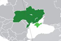 Географическое положение Украины